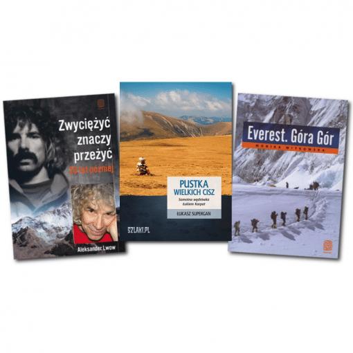 Pakiet górski książki o tematyce górskiej